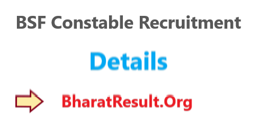 BSF Constable Recruitment 2020 : 10th Pass Apply Now