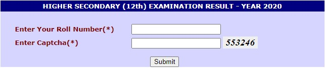 CGBSE 12th Result 2020 : Declared 23 June Check like This