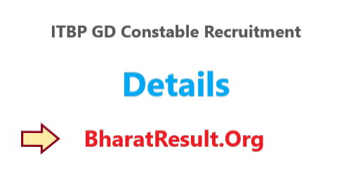 ITBP GD Constable Recruitment 2020 – 51 Posts