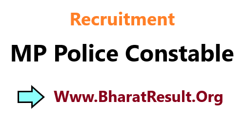 Recruitment MP Police Constable 2020 Apply Online