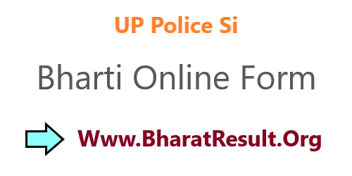 UP Police Si Bharti 2020 Online Form Date