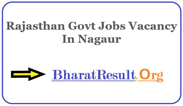 Latest Rajasthan Govt Jobs Vacancy In Nagaur | Apply Online Rajasthan Job