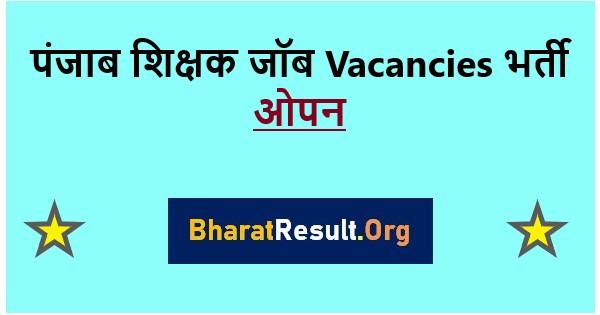Punjab Teacher Recruitment 2020: Primary 8393 post, apply online form, PDF
