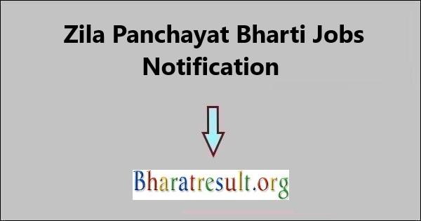 जिला पंचायत भर्ती 2021 खाता सह MIS सहायक, डाटा एंट्री ऑपरेटर और अन्य | Zila Panchayat Bharti Jobs Notification